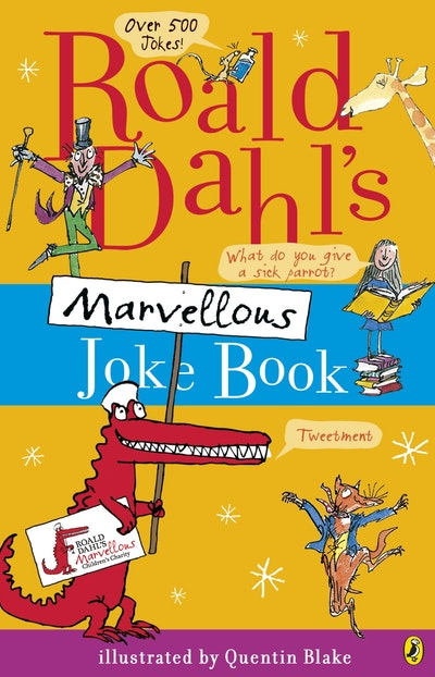 Book Cover:  Roald Dahl's Marvellous Joke Book