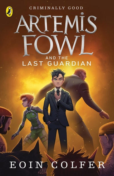 Book Cover:  Artemis Fowl and the Last Guardian