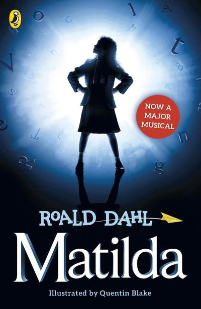 Book Cover:  Matilda (Theatre tie-in)