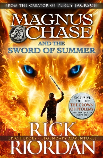 Book Cover:  Magnus Chase and the Sword of Summer (Book 1)
