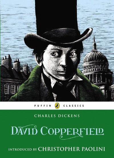 Book Cover:  David Copperfield