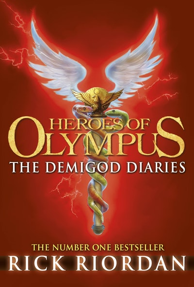 Book Cover:  Heroes of Olympus: The Demigod Diaries