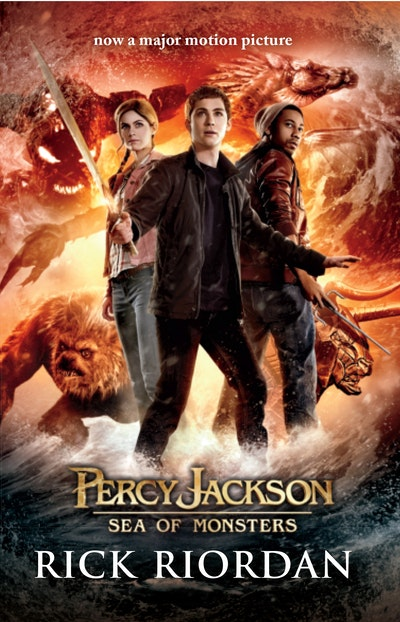 Book Cover:  Percy Jackson and the Sea of Monsters (Film Tie-in Edition)