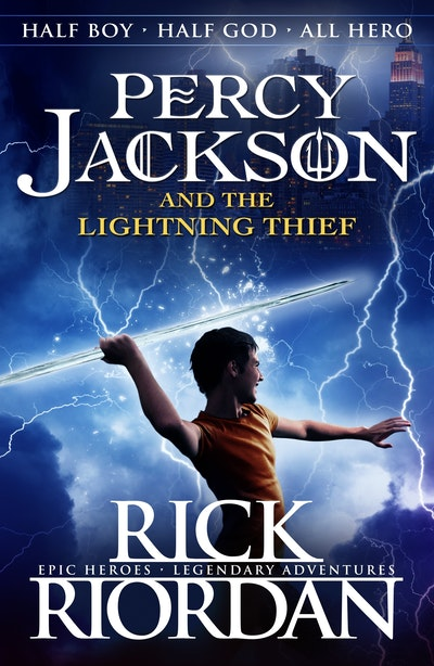 Book Cover:  Percy Jackson and the Lightning Thief