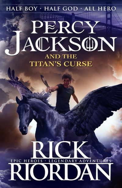 Book Cover:  Percy Jackson and the Titan's Curse