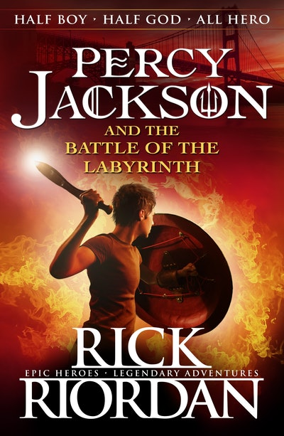 Book Cover:  Percy Jackson and the Battle of the Labyrinth