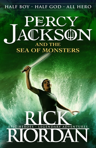 Book Cover:  Percy Jackson and the Sea of Monsters