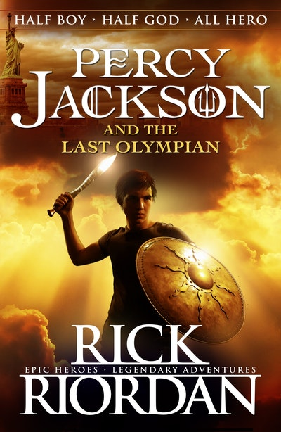 Book Cover:  Percy Jackson and the Last Olympian