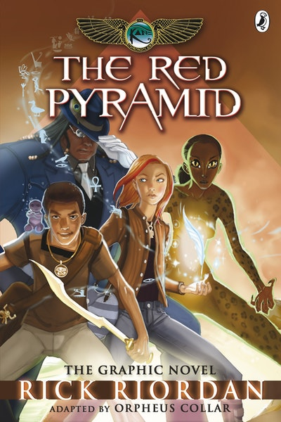 Book Cover: The Red Pyramid: The Kane Chronicles: The Graphic Novel