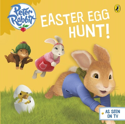 Book Cover:  Peter Rabbit Animation: Easter Egg Hunt!