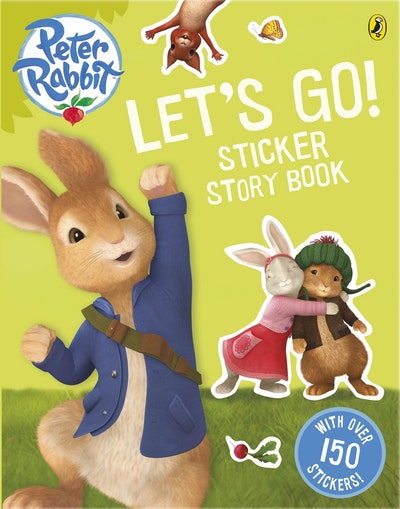 Book Cover:  Peter Rabbit Animation: Let's Go! Sticker Story Book