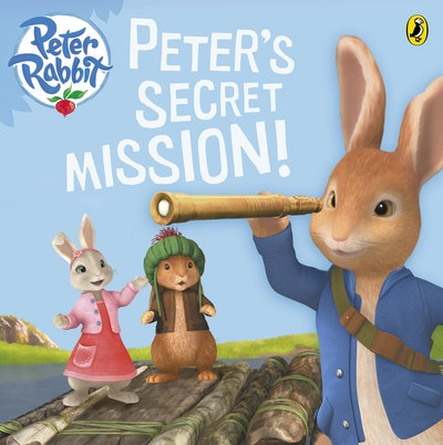 Book Cover:  Peter Rabbit Animation: Peter's Secret Mission!