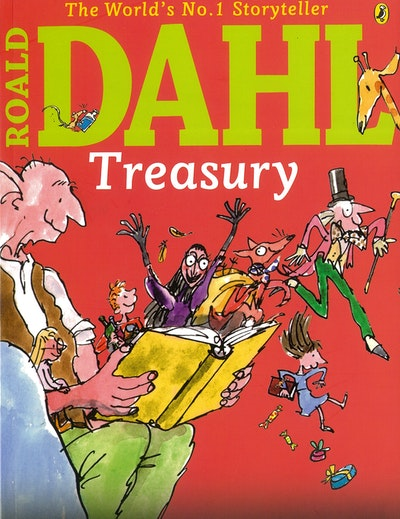 Book Cover:  Roald Dahl Treasury