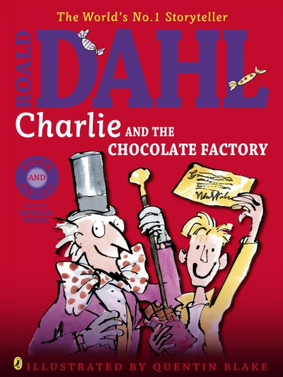 Book Cover:  Charlie and the Chocolate Factory (Book & CD Set)