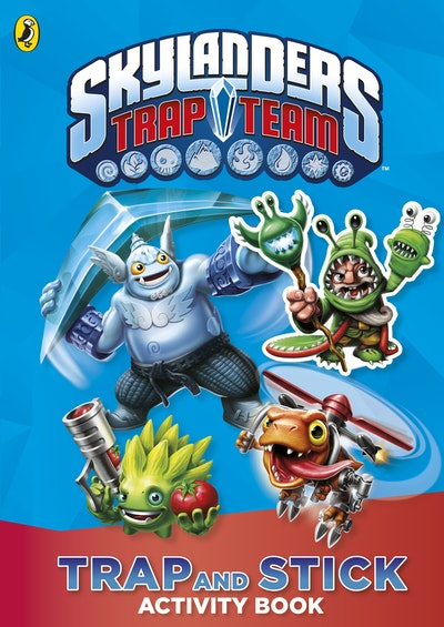 Book Cover:  Skylanders Trap Team: Trap and Stick Activity Book
