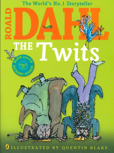 Book Cover: The Twits (Colour Edition with CD)