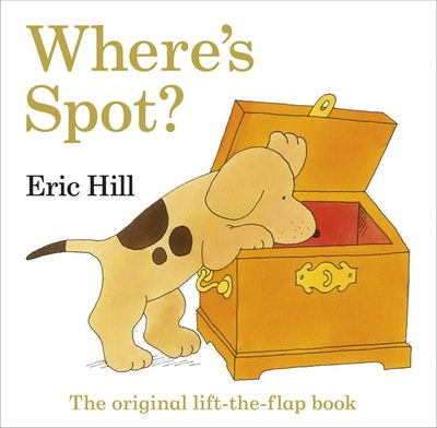 Book Cover:  Where's Spot: The Original Lift-The-Flap Book