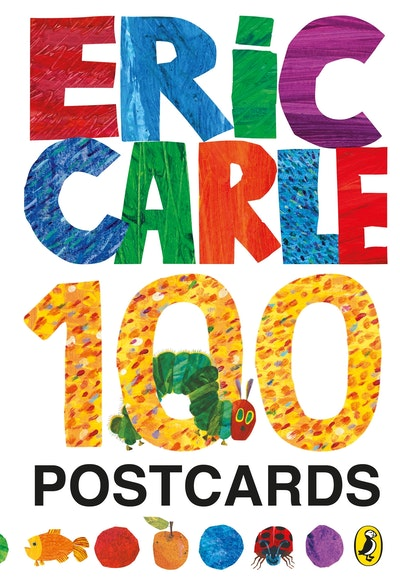 Book Cover:  Eric Carle: 100 Postcards