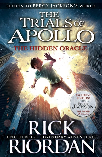 Book Cover: The Hidden Oracle: The Trials of Apollo (Book 1)