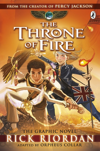 The Throne of Fire: The Graphic Novel (The Kane Chronicles Book 2)