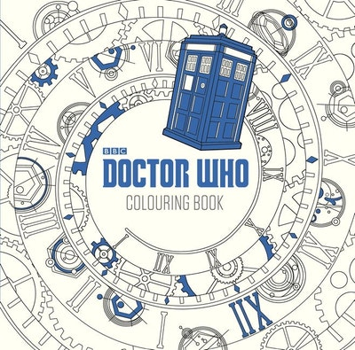 Book Cover: The Doctor Who Colouring Book