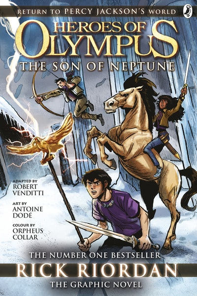 The Son Of Neptune: The Graphic Novel (Heroes Of Olympus Book 2)