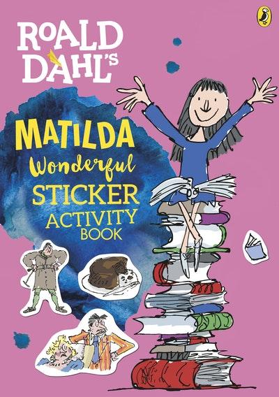 Roald Dahl Matilda Sticker Activity Book