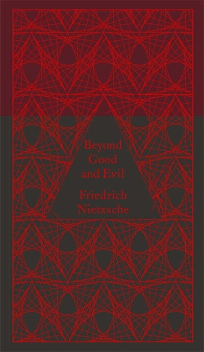 Book Cover:  Beyond Good and Evil: Pocket Hardbacks: Design by Coralie Bickford-Smith