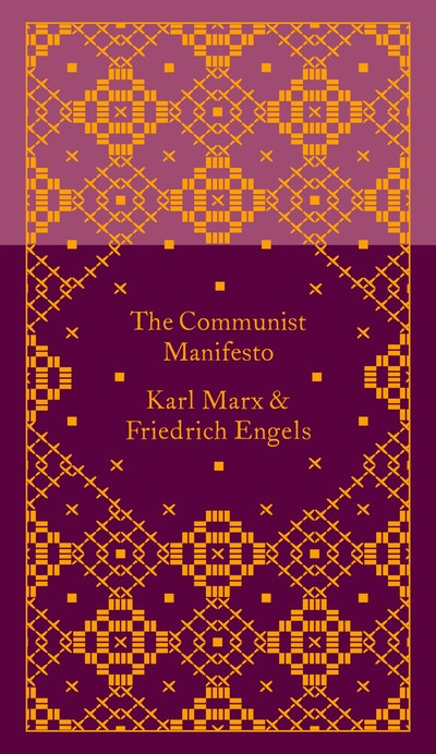 Book Cover: The Communist Manifesto: Pocket Hardbacks: Design by Coralie Bickford-Smith