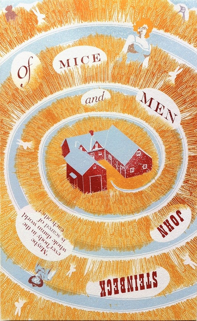 Book Cover:  Of Mice and Men