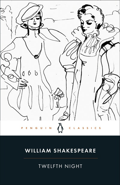 Book Cover:  Twelfth Night