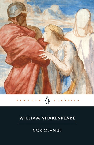 Book Cover:  Coriolanus