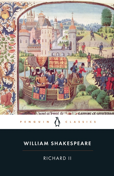 Book Cover:  Richard II
