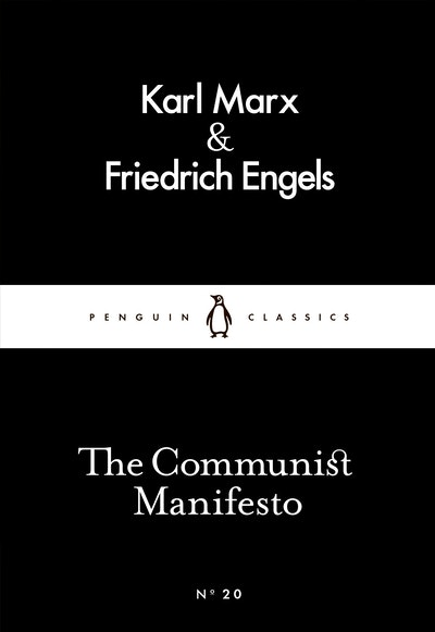 Book Cover: The Communist Manifesto: Little Black Classics: Penguin 80s