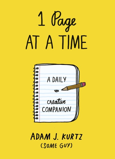 Book Cover:  1 Page at a Time: A Daily Creative Companion