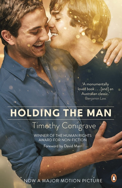 Book Cover:  Holding the Man film tie in