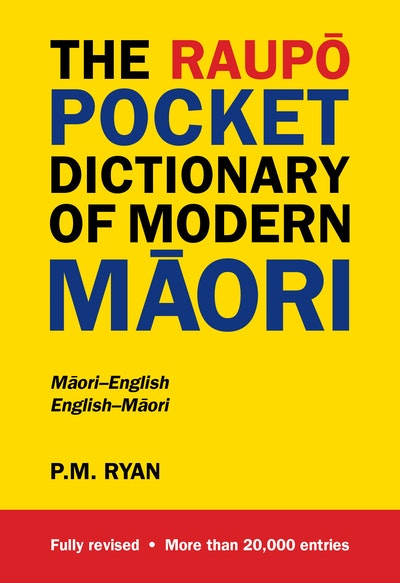 The Raupō Pocket Dictionary of Modern Māori