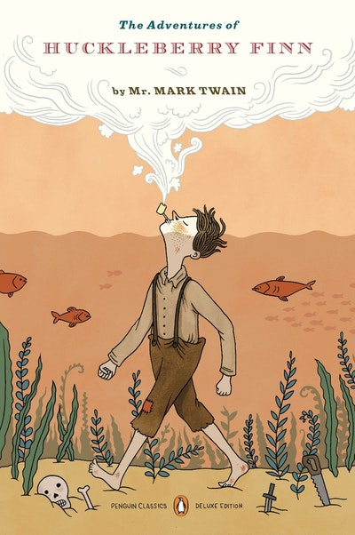 Book Cover: The Adventures of Huckleberry Finn (Penguin Classics Deluxe Edition)