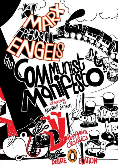 Book Cover: The Communist Manifesto (Penguin Classics Deluxe Edition)