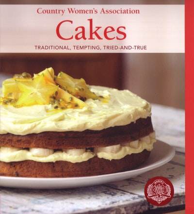Book Cover:  Country Women's Association Cakes