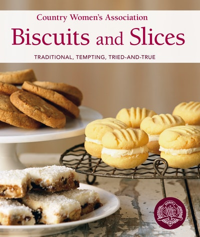 Book Cover:  Country Women's Association Biscuits and Slices