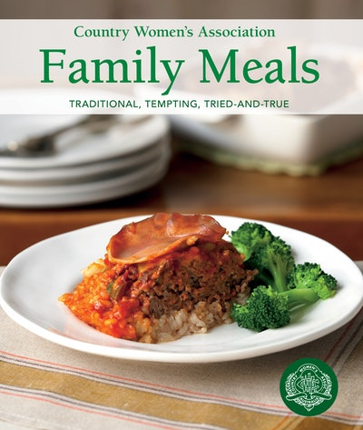 Book Cover:  Country Women's Association Family Meals