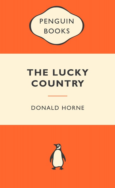 Book Cover: The Lucky Country: Popular Penguins