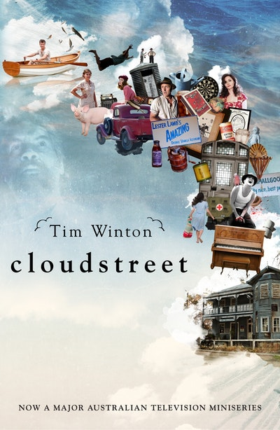 Book Cover:  Cloudstreet TV tie-in