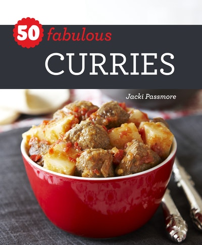 Book Cover:  50 Fabulous Curries