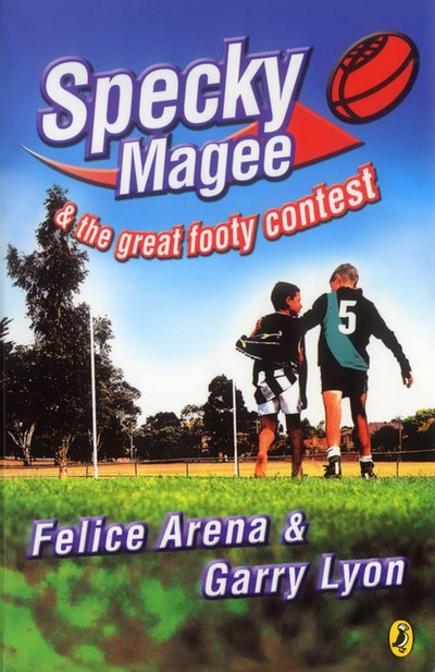 Book Cover:  Specky Magee & The Great Footy Contest