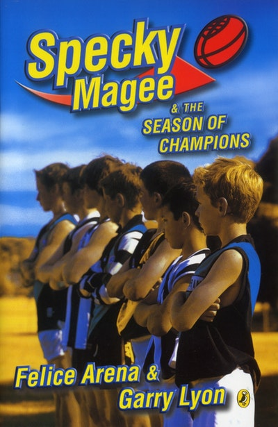 Book Cover:  Specky Magee & the Season of Champions