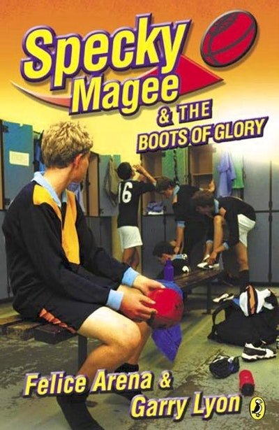 Book Cover:  Specky Magee & the Boots of Glory