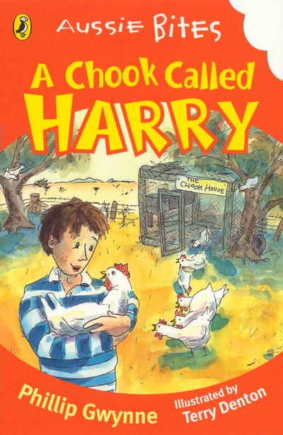 Book Cover: A Chook Called Harry: Aussie Bites