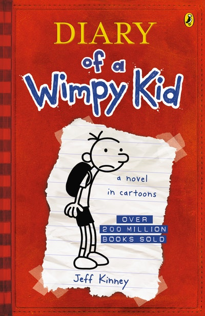 Book Cover:  Diary of a Wimpy Kid (BK1)